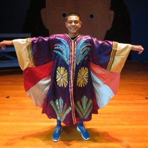 Nick Mejia shows off his dream coat.  Photo by Anna Gustafson