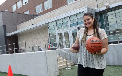Maspeth High Student's Star Shooting Higher