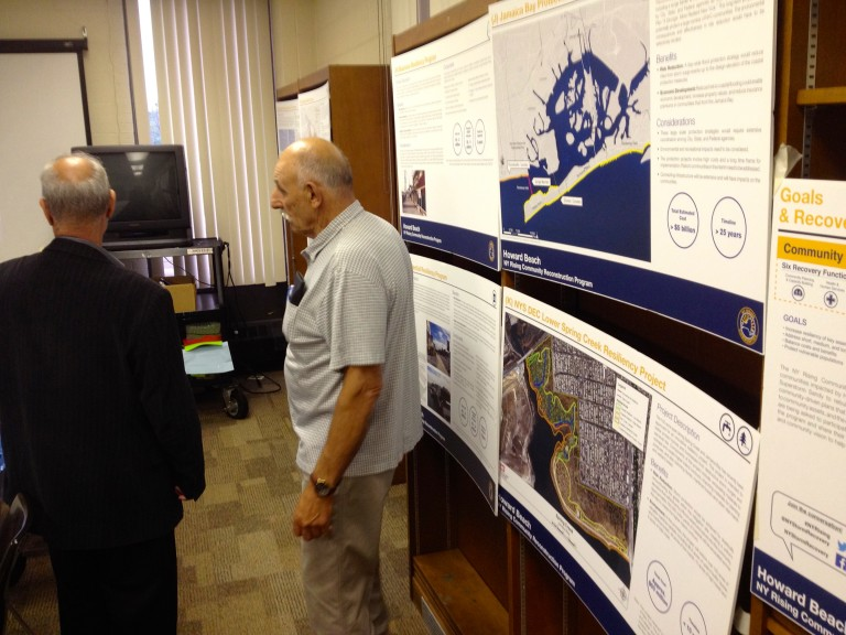 Howard Beach Mulls Storm Protection Plans
