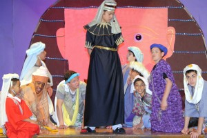 Students began rehearsing in January for the show's performances last Friday and Saturday.  Courtesy St. Mary Gate of Heaven School