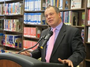 Queens Library CEO Thomas Galante