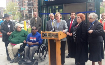Forest Hills Welcomes 'Long Overdue' Subway Elevators