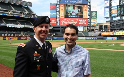 Breezy Point Veteran Honored at Citi Field