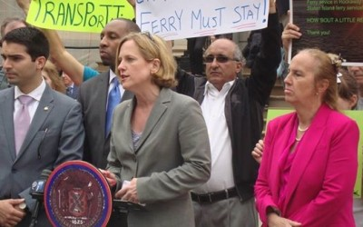Queens Leaders Rally to Save Rockaway Ferry