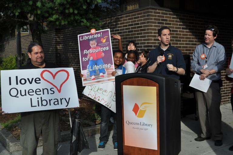 Goldfeder Secures $741K for Ozone Park, Rockaway Libraries