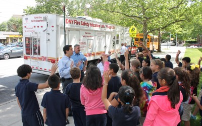 Lindenwood Students Learn Ins and Outs of Fire Safety