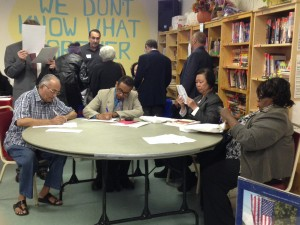 Seniors from throughout Queens attended a job fair in Kew Gardens last Friday for individuals over the age of 50.  Photos courtesy NYS Senate