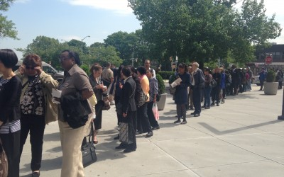 Hundreds of Seniors Flock to Job Fair in Kew Gardens