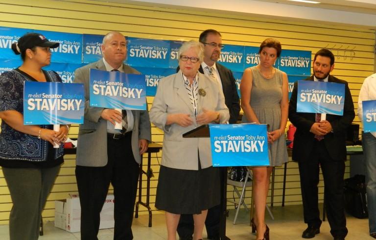 Teachers Back Stavisky for Senate