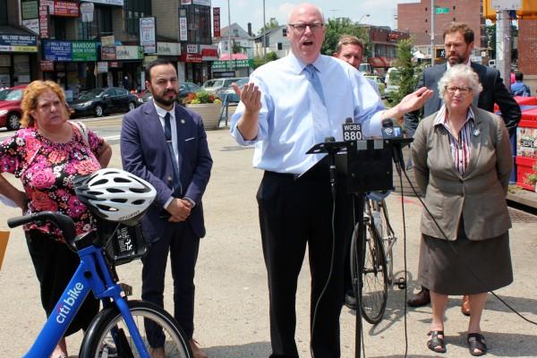 Boro calls for bike share