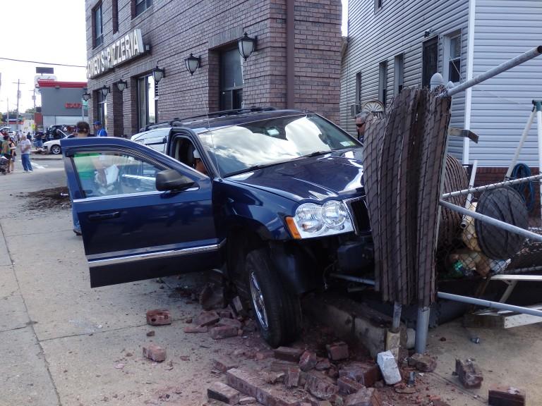 Car Slams Into Ozone Park Pizzeria