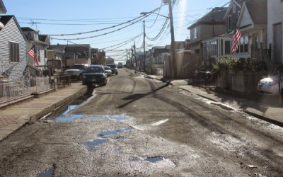 City Adds More Sandy Scarred Streets to To-Do List
