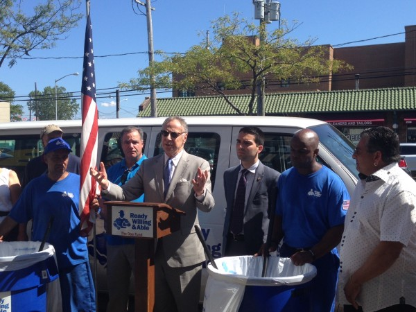With Boost From Ulrich Office, Men in Blue Keep B. 116th Clean