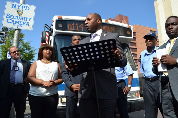 All Aboard! New Q114 Limited Bus Serving South Queens