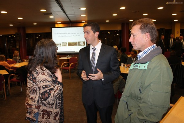 Goldfeder Pushes Port Authority, Gets Noise Monitors