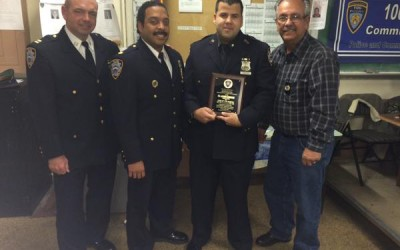 Cop of the Month Thwarts Thief, Gets Gun off 106th Precinct Streets
