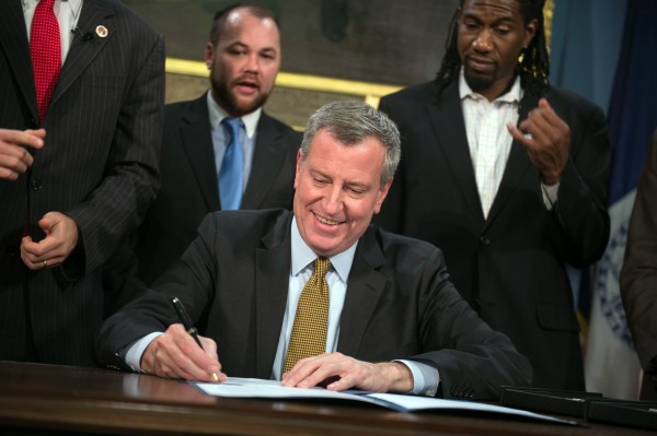 Mayor Signs Bills into Law