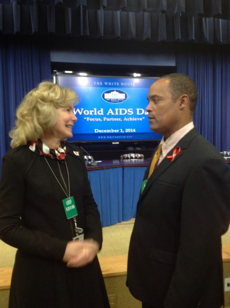 Borough Rowing Pioneer Visits White House for World AIDS Day