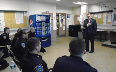 Six New Officers Join 106th Precinct