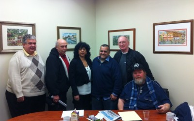 Participatory Budget Committee Meets with Ulrich Fiscal Chief