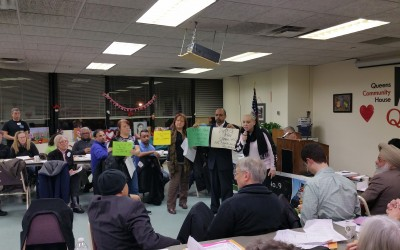 Opponents of S. Ozone Park Jail Project Voice Concerns at CB 9 Meeting