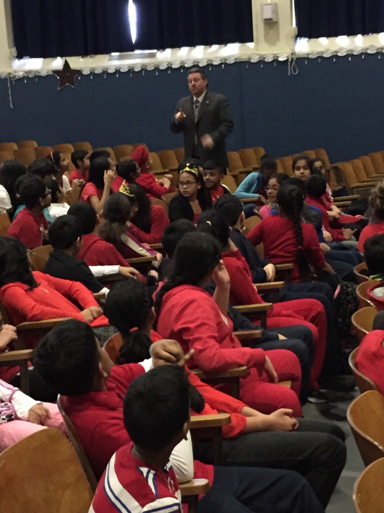 PS 62's Career Day Draws Elected Guest