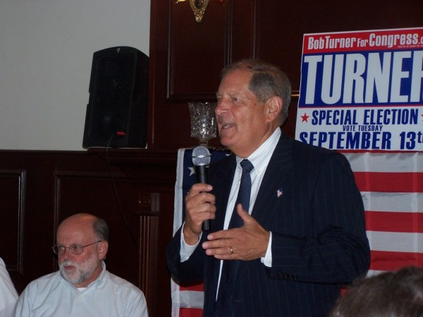 Bob Turner is set to be the next chairman of the Queens County Republican Party. File Photo