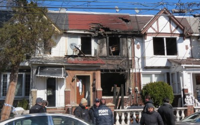 Four-Alarm Woodhaven Blaze Claims Eight Homes, Two Dogs; Fire Marshals Nab Ousted Tenant who Allegedly Ignited Inferno