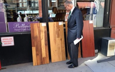 Wood No Good?; Schumer urges investigation of flooring company