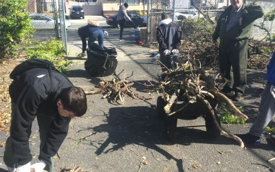 Conservation Group Leads Latest Cleanup of Charles Park Playground