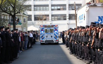 Borough Mourns Police Officer Brian Moore; 105th Precinct Cop Shot on Duty in Queens Village