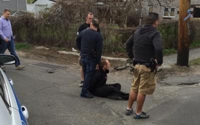 Cops Close in, Nab Alleged Boulevard Burglar