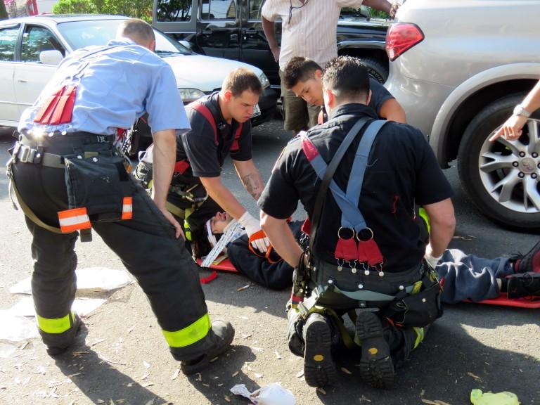 Pedestrian Struck by Car in Woodhaven