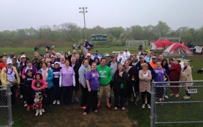 Wet Weather Doesn't Dampen Rockaway Relay for Life