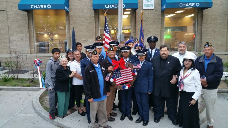Woodhaven Thanks Service Members in Solemn Ceremony