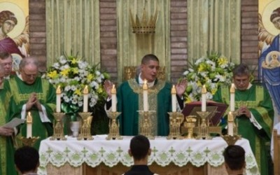 It's Official: Fr. Colamaria Installed as Pastor of St. Helen