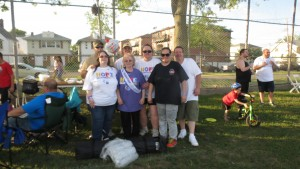 The Friends for Life team raised more than $4,000.