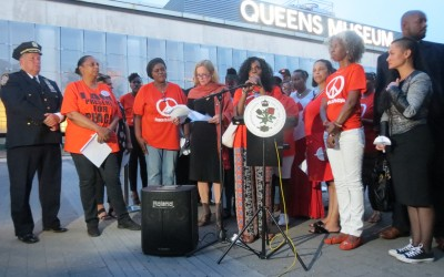 Leaders Spotlight Victims, Awareness at Gun Violence Vigil