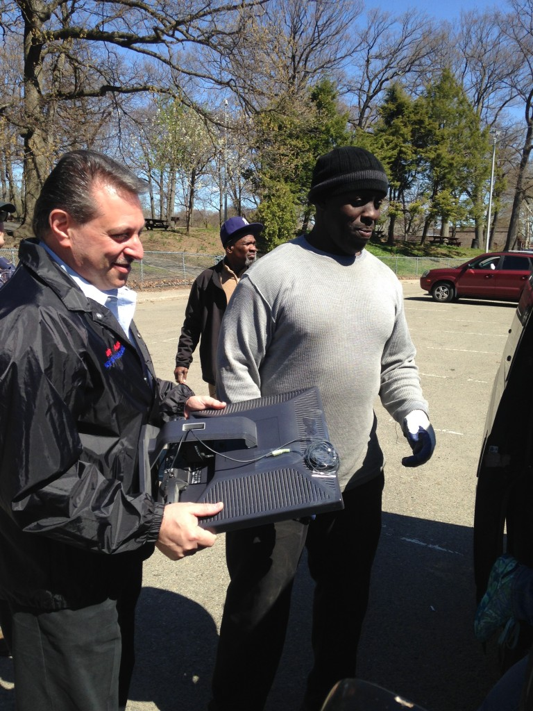Area Recycling Event Brings in Tons of Paper and E-Waste