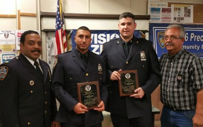 106th Pct. Cops of the Month Bravery Caught on Camera