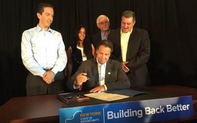 Cuomo Signs 'Breezy Bill' into Law