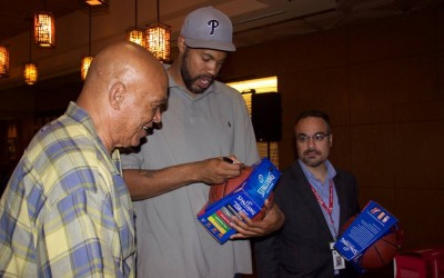 All-Star Athletes Greet Fans at Resorts World Casino