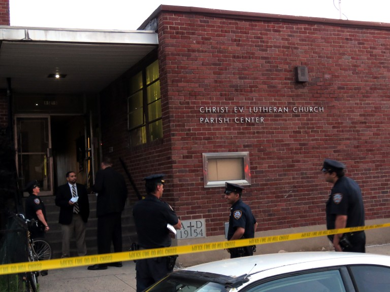 Arsonist Tries to Torch Ozone Park Church