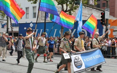 Gay is OK in the BSA (Sort Of)
