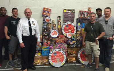Ozone Park Fireworks Bust Spotlights NYPD Zero Tolerance Policy