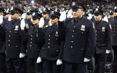 NYPD Recruits Graduate from New College Point Academy
