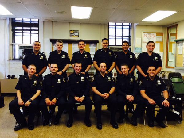 Twelve Rookie Cops Assigned to 106th Precinct