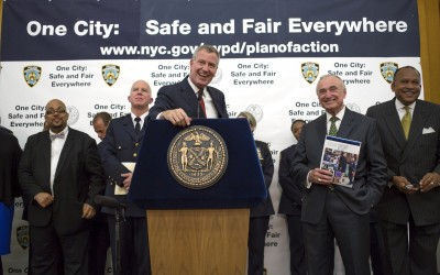 De Blasio, Bratton Unveil 'Groundbreaking' Policing Initiative