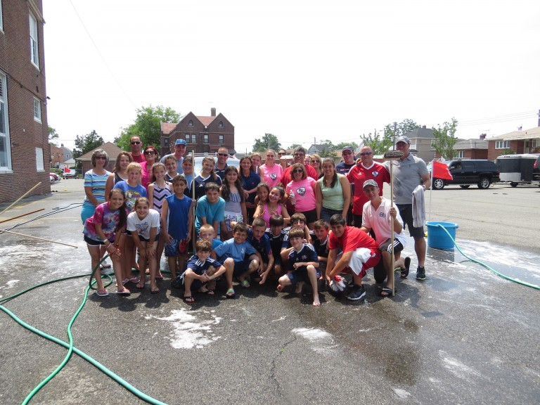 Our Lady of Grace Sponsors Successful Car Wash