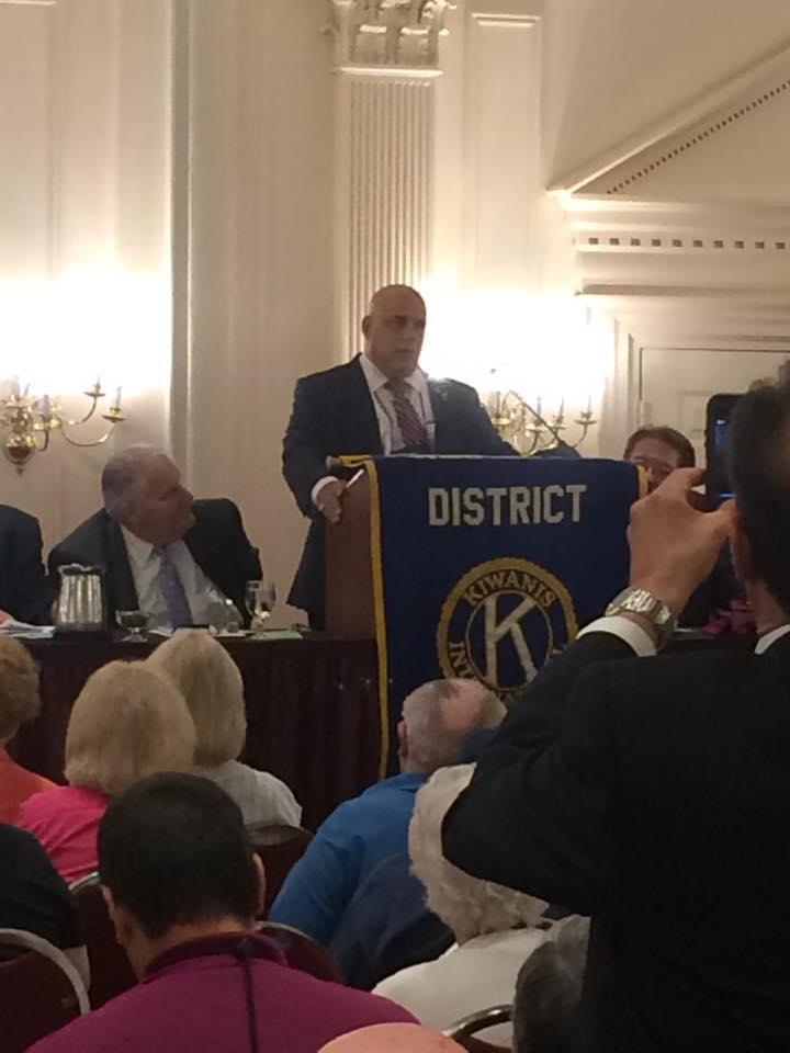 Howard Beach's Sirgiovanni Elected Governor of NY Kiwanis